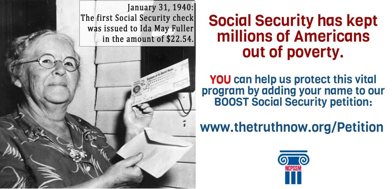 Tomorrow We Celebrate The First Social Security Check Being Issued To Ida May Fuller Though With T Social Security Benefits Social Security Medicare Billing