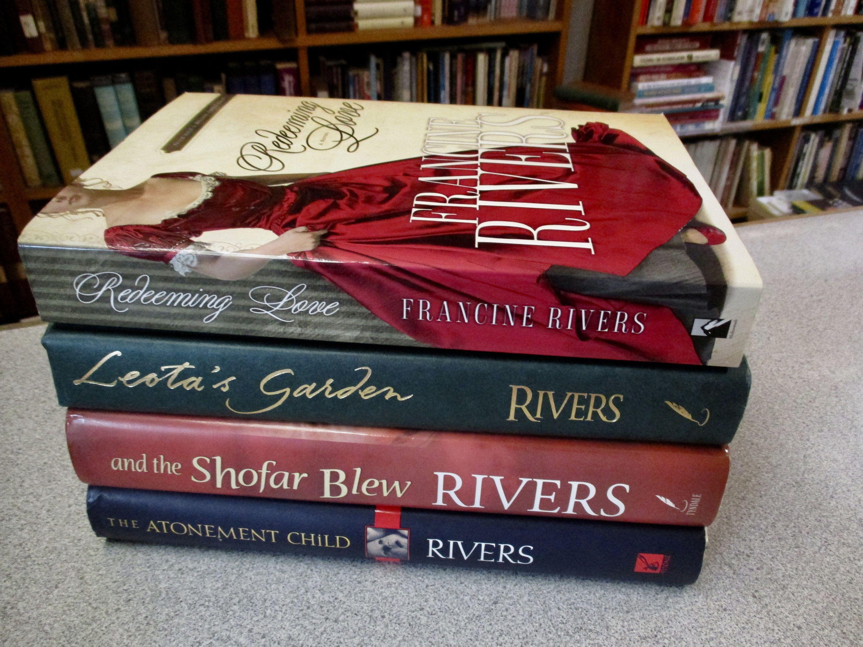 Christian Fiction Francine Rivers 4 Books Redeeming Love Etsy Christian Fiction Francine Rivers Christian Books