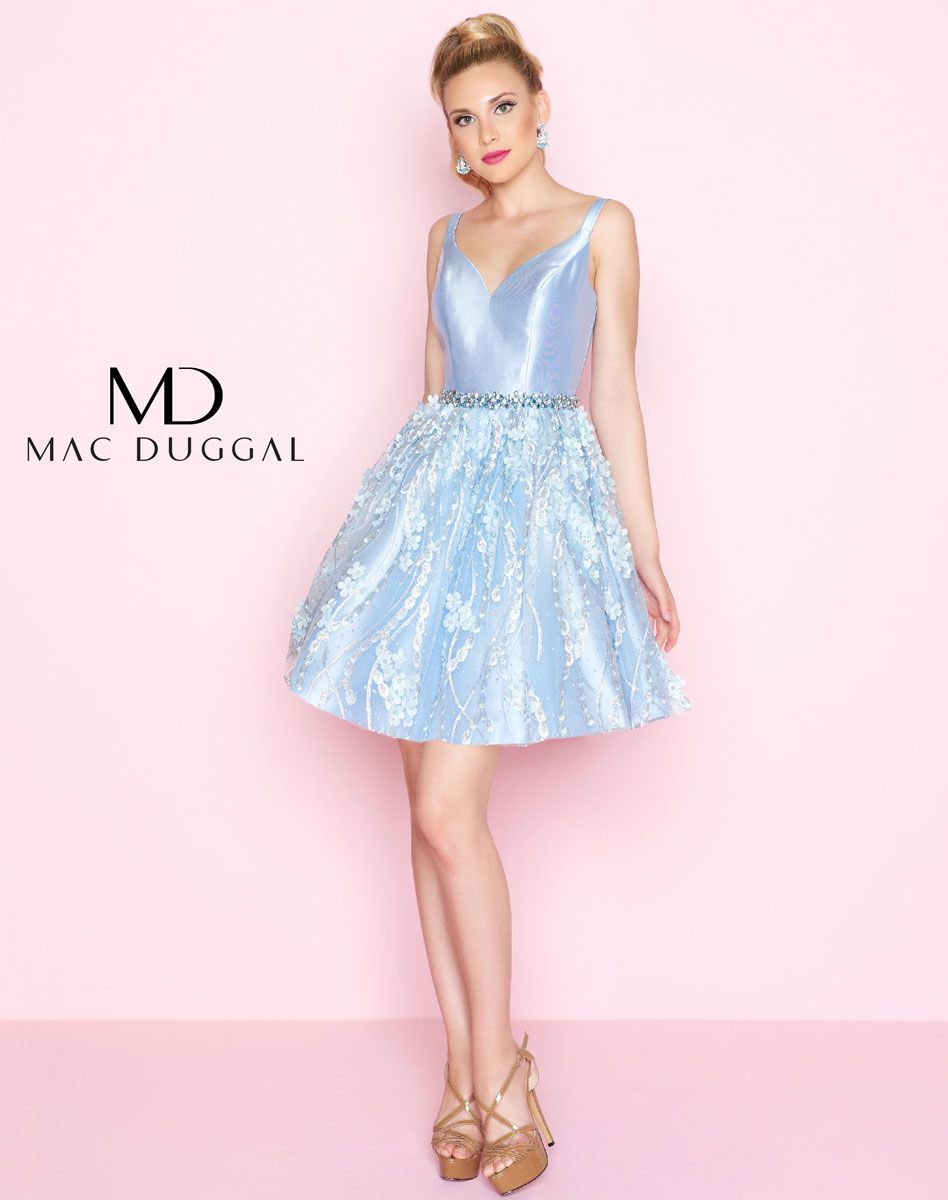 67626n Mac Duggal Floral Applique Cocktail Dress Applique Cocktail Dress Dresses Women S Fashion Dresses [ 1200 x 948 Pixel ]