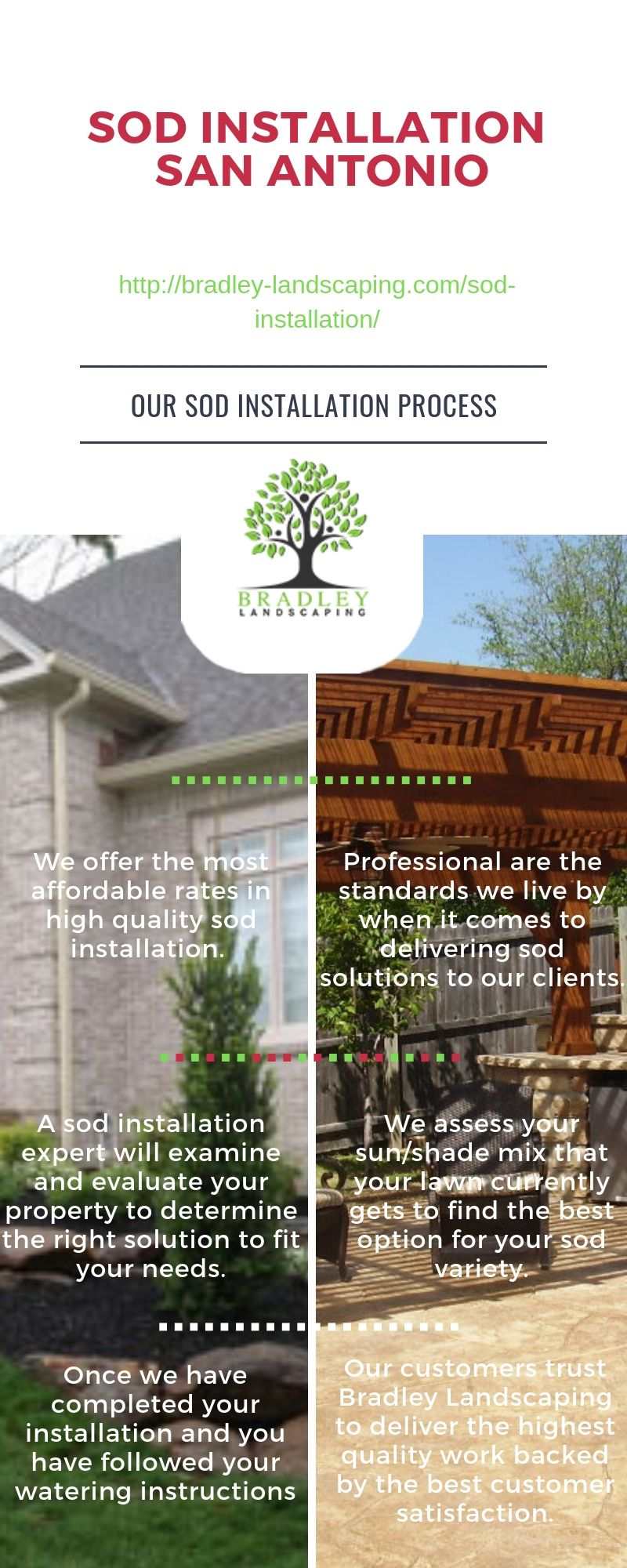 Affordable Quality Sod Installation Lawn Care San Antonio