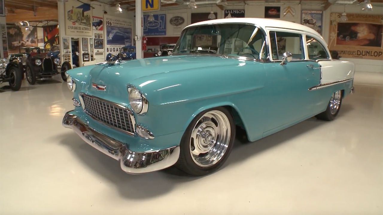1955 Chevy Bel Air With A V12 Engine Swaps Coupe Gary Kollofskis Chevrolet An All Aluminum 730 Ci