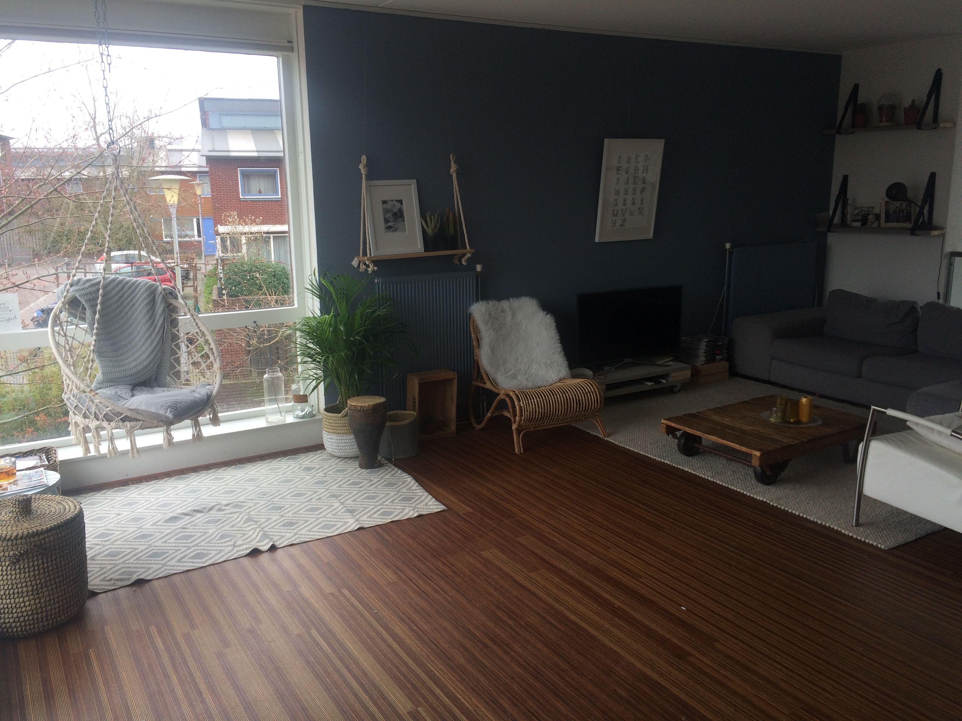 Nieuwe vloer woonkamer
