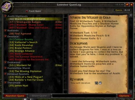 Game Quest List Google Search Data Dashboard Apprentice Medicine Pouch 1300 exp (or 7 80 at level 70). pinterest