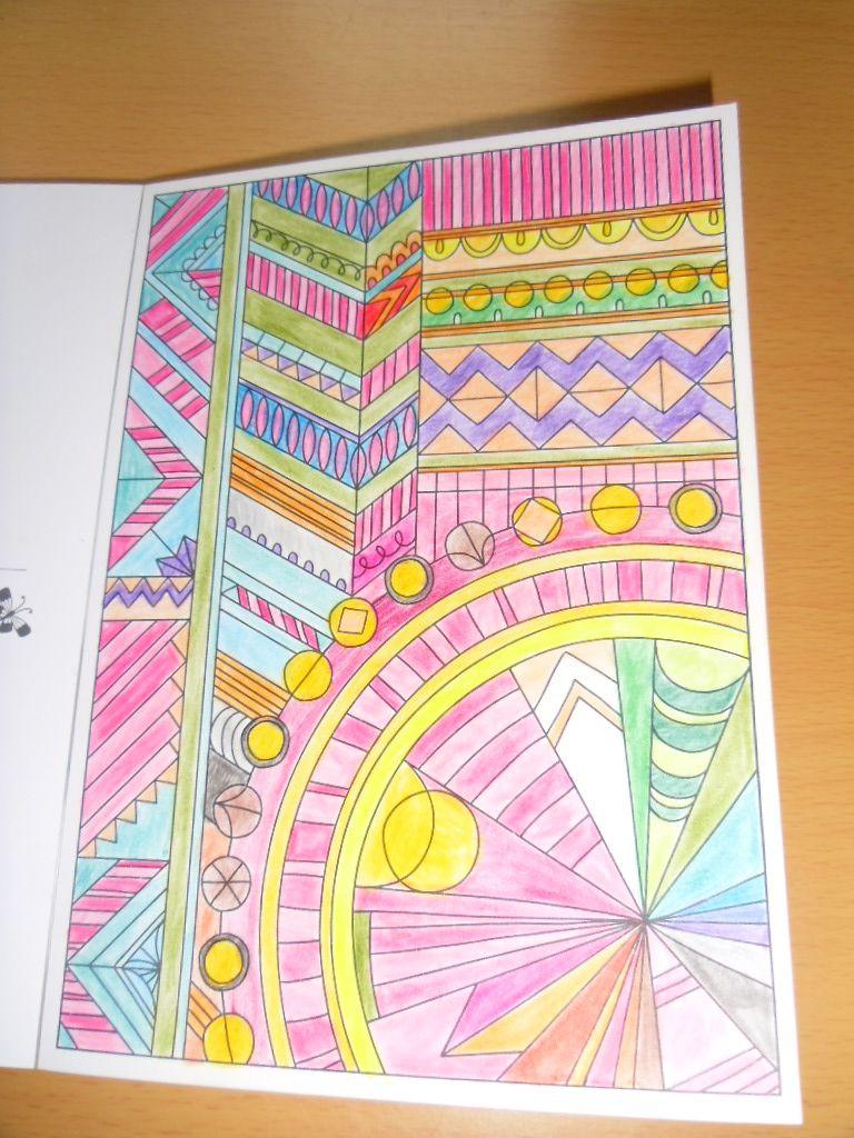 Pretty Pattern Postcards Media
