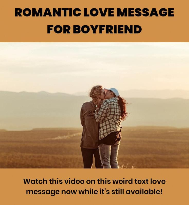 Romantic Love Message For Boyfriend :) Go here to learn