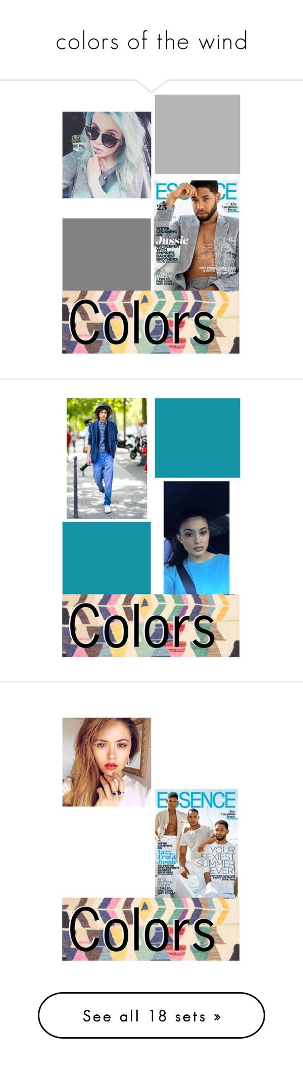 """""""colors of the wind"""" by kateloui ❤ liked on Polyvore featuring nuLOOM, men's fashion, menswear, art, beauty, Charlotte Russe, New Look, Bite, By Terry and G-Star Raw"""