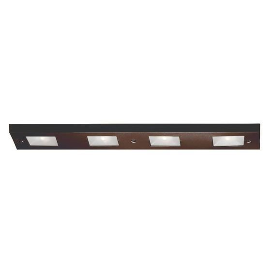 WAC Lighting BA-LIX-4 24″ Length 4 Light Line Voltage Under Cabinet - WAC Lighting BA-LIX-4 24″ Length 4 Light Line Voltage Under