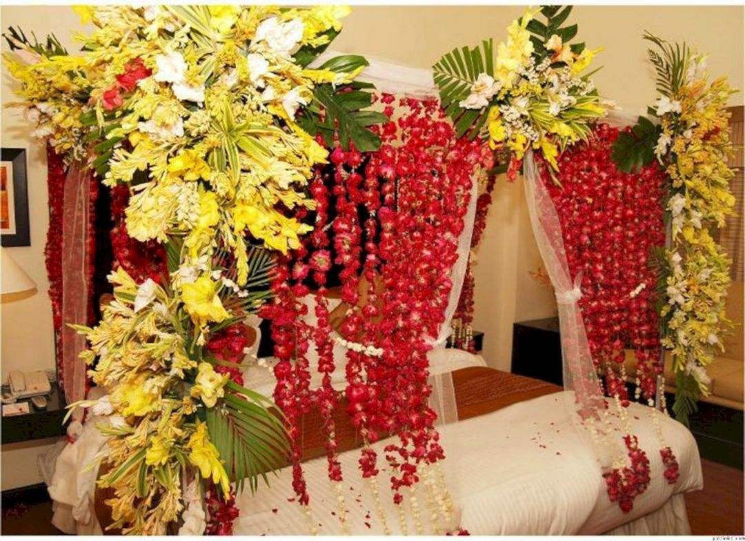 Room Decoration Ideas For Wedding Night