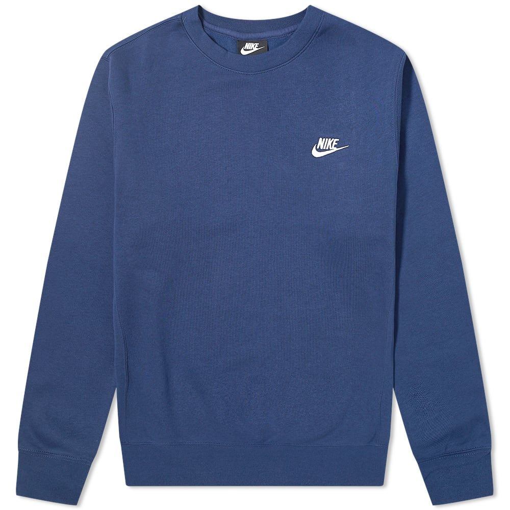 Nike Club Crew Sweat In 2021 Sweatshirt Outfit Men Vintage Nike Sweatshirt Nike Crewneck Sweatshirt [ 1000 x 1000 Pixel ]