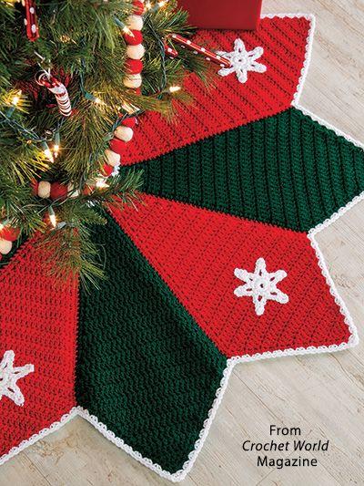 Crochet World December 2018 Arvore De Croche Croche Natalino E
