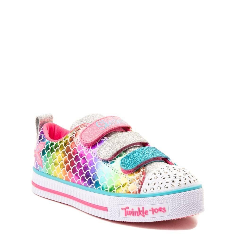 Skechers Twinkle Toes Mermaid Sneaker