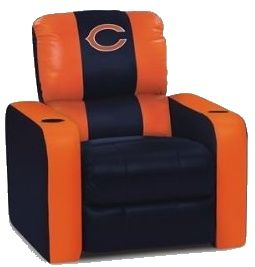 Groovy Bears Recliner Chicago Bears Man Cave Recliner Chicago Bears Ocoug Best Dining Table And Chair Ideas Images Ocougorg