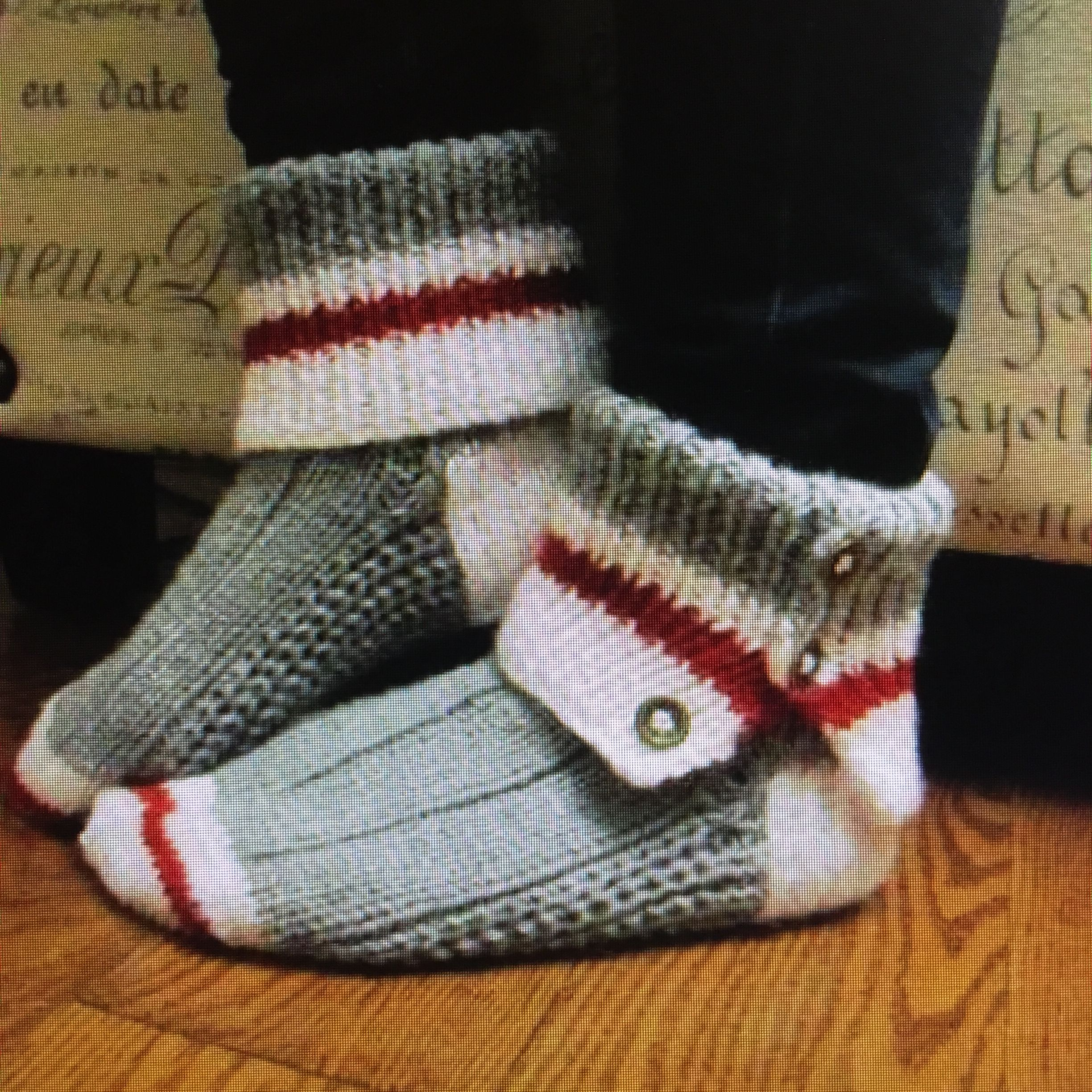 Knit Work Sock Slippers. In search of this pattern. Have tried ...