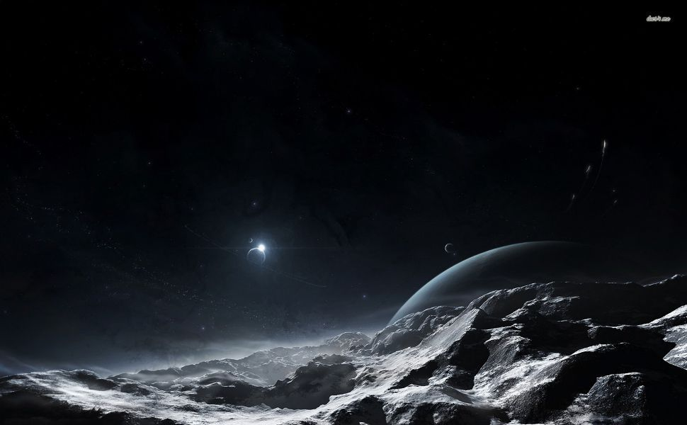Dark Planet HD Wallpaper