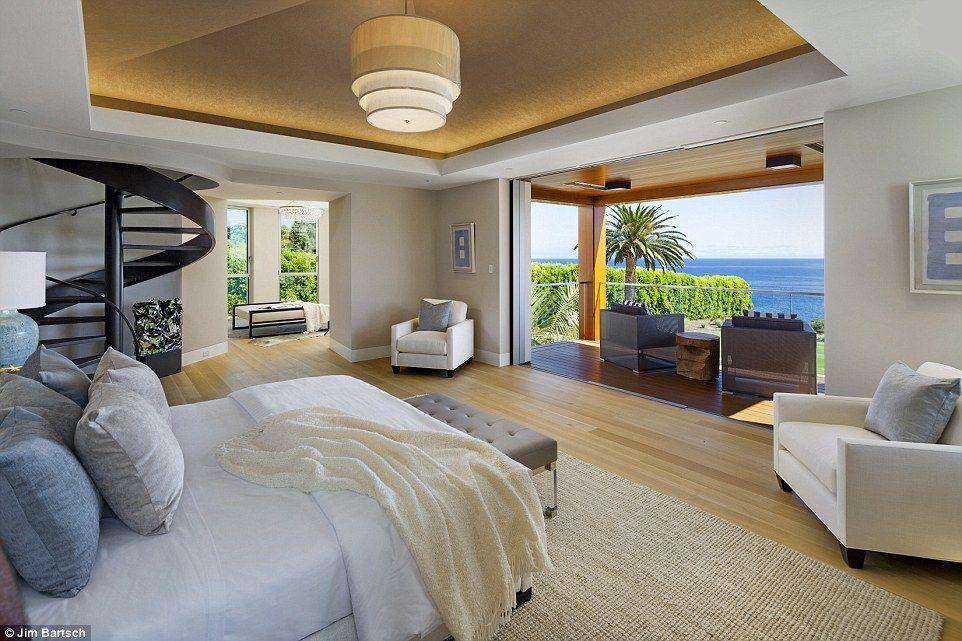 high tech santa barbara mansion selling for 35million spiral