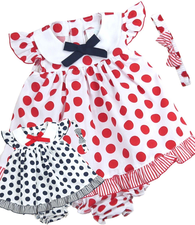dca8acbc7f39 Details zu BabyPrem Baby Girls Clothes Dresses 3 Piece Dress Set ...