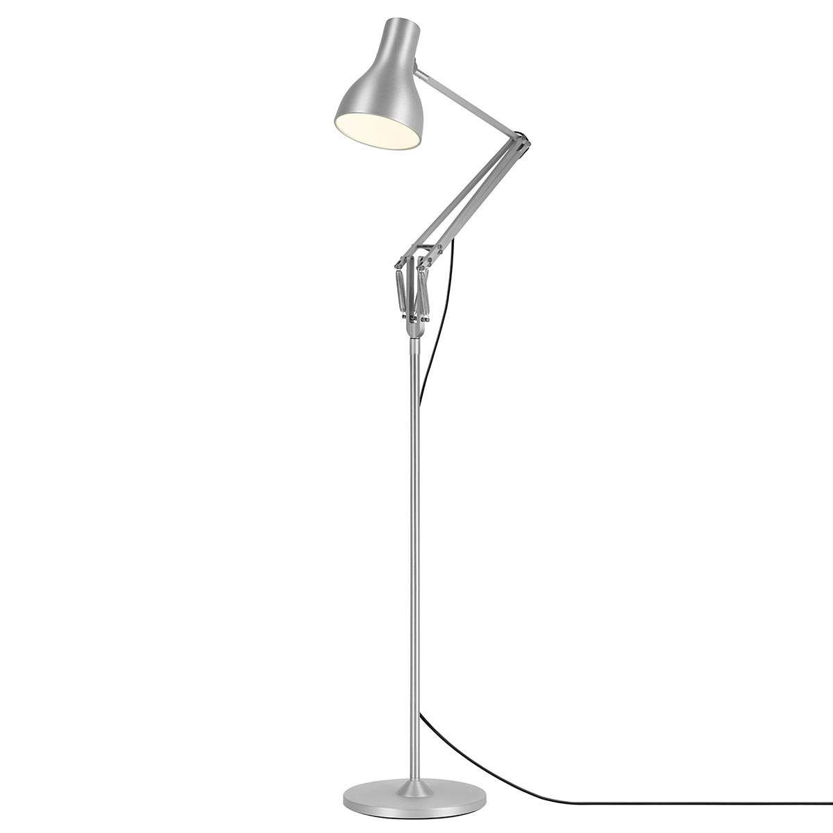 Anglepoise Type 75 Stehleuchte Silber Led Stehleuchte Led