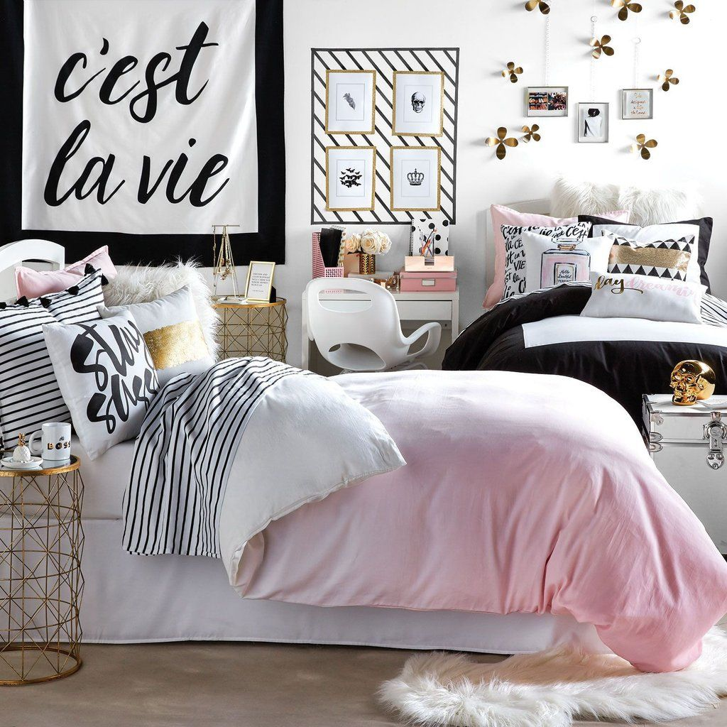 Pink Ombre Duvet Cover And Sham Set Dormify With Images