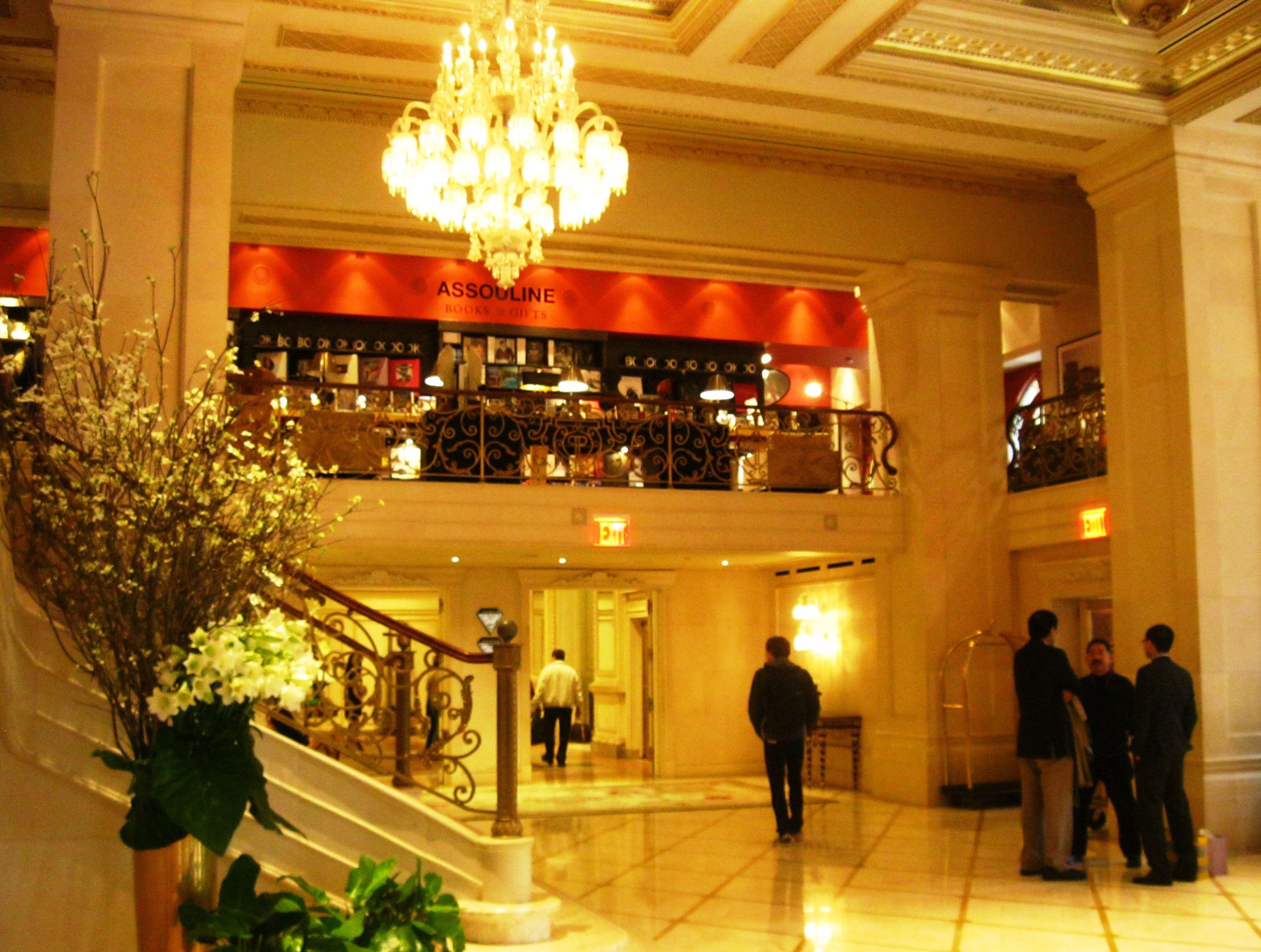 Assouline Lobby Plaza Jpg 3335 2518 Plaza Hotel Hotel Assouline