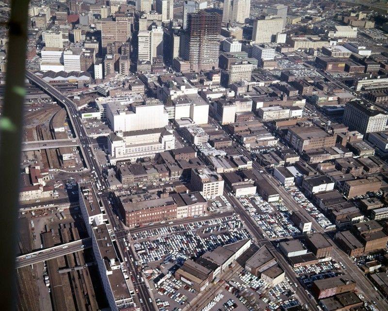 Flashback Photos Atlanta From Above December 1965 Atlanta Skyline Chicago Travel Atlanta