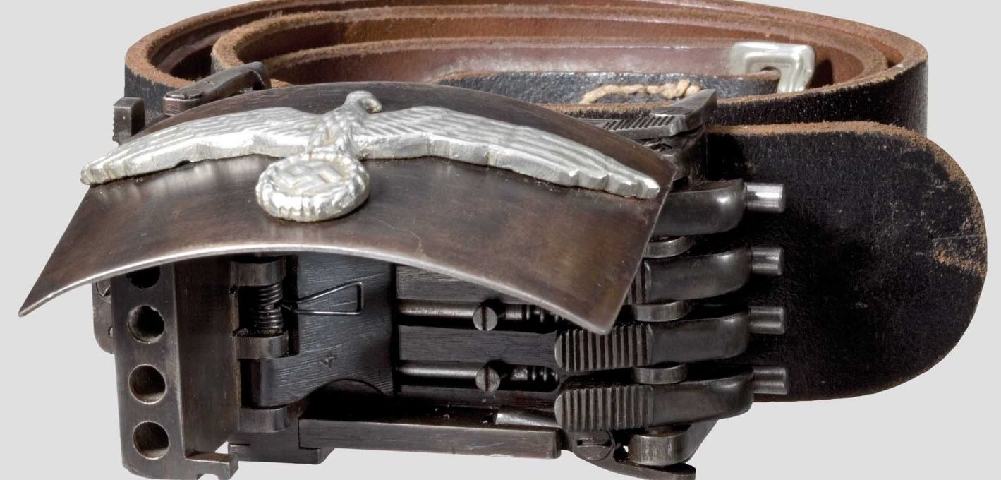 Koppelschloss Pistole 1 4 Shot Germany Second Worldwar Guns Diagram Http Wwwbevfitchettus Springfield1911a1pistols Exploded