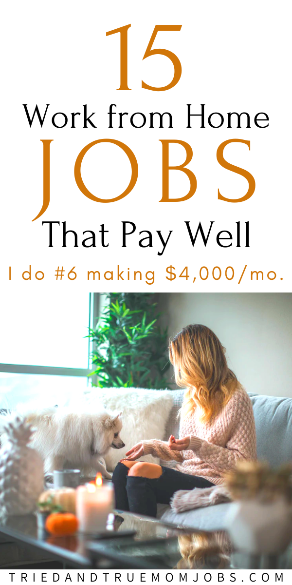 503dc13ab3ca9676edfec5b2b4ec68d7 - 15 Real Work from Home Jobs that Pay Well in 2020 - work-from-home