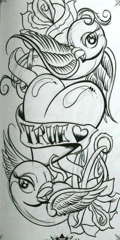 True Love True Love Tattoo Tattoo Design Drawings Tattoo Drawings