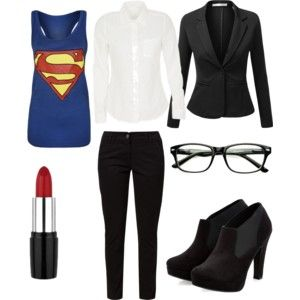 Female Clark Kent · Superman CostumesFemale Superhero Costumes DiyFemale ...  sc 1 st  Pinterest & Female Clark Kent | Clark kent Clarks and Costumes