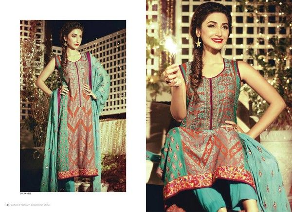 Orient Textiles Festival Eid Dresses 2014 For Girls: Orient textiles Festivals 2014 eid dresses recently released models with full of exotic and exclusive sewing. Orient textiles started at the beg…