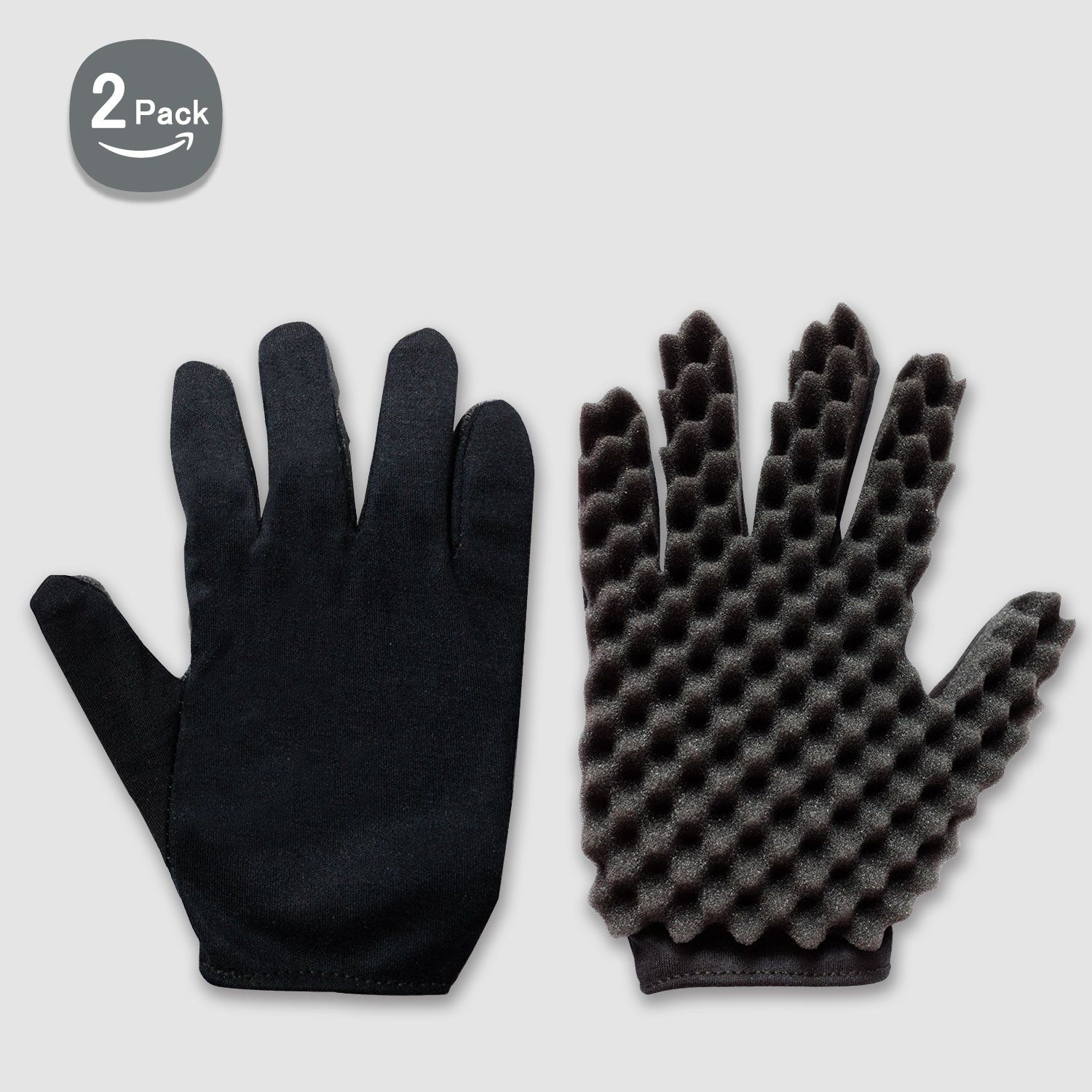 Curl Hair Sponge Gloves Tutorial For Barbers Wave Black Twist Brush Styling Tool For Men And Women Curly Hair Care Curly Hair Women Hair Sponge Curly Hair Care