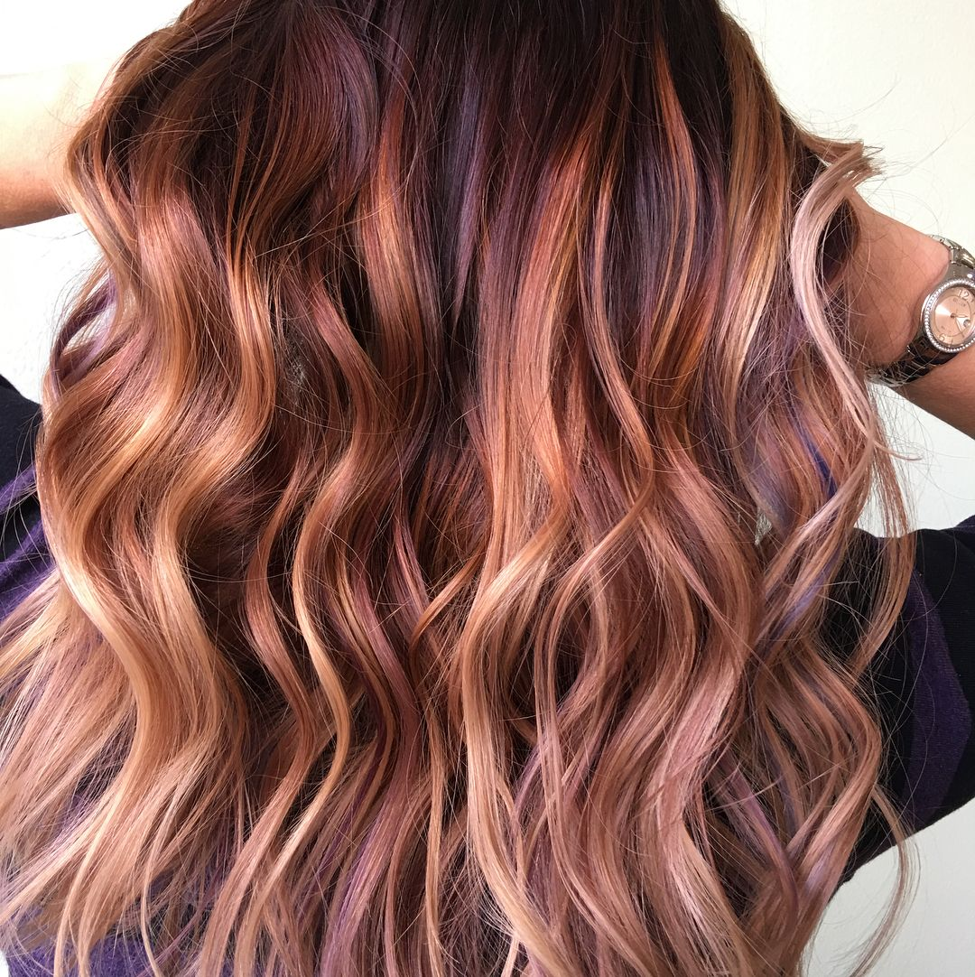 Step Aside Oceanic Brunette Hair There S A New Rainbow Hair Color Trend In Town And It S About To Le Spring Hair Color Spring Hairstyles Rainbow Hair Color