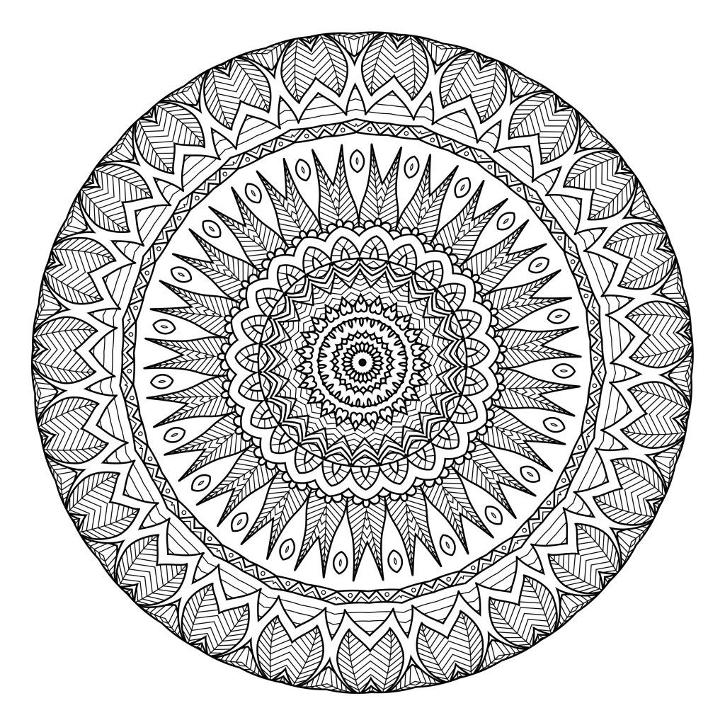 Lifestyle And Productivity The Maven Circle Mandala Coloring Pages Free Printable Coloring Pages Mandala Coloring Books
