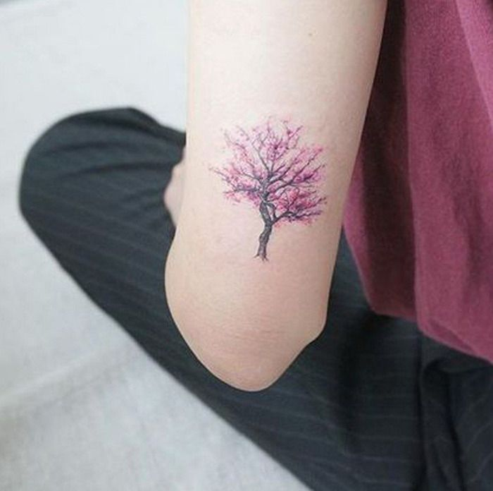1001 id es tattoo tatouage tatouage cerisier et. Black Bedroom Furniture Sets. Home Design Ideas