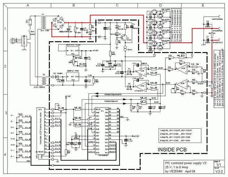 This Is 0 24vdc Digital Pic Power Supply Circuit This Variable