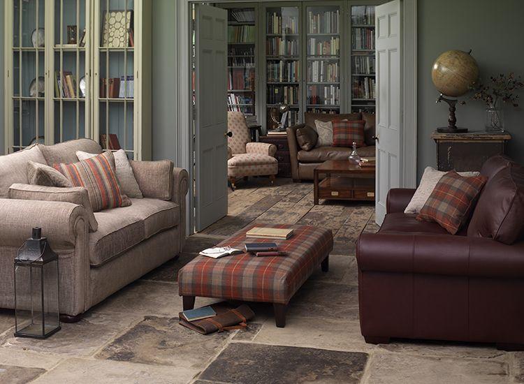 rochester large sofa in warwick habitat jute fabric. Black Bedroom Furniture Sets. Home Design Ideas