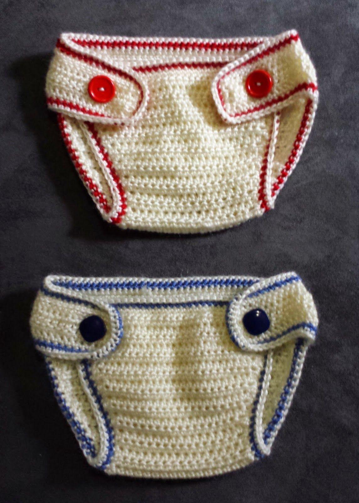 365 Crochet: Baby Sport Diaper Cover -free crochet pattern- | bebe ...