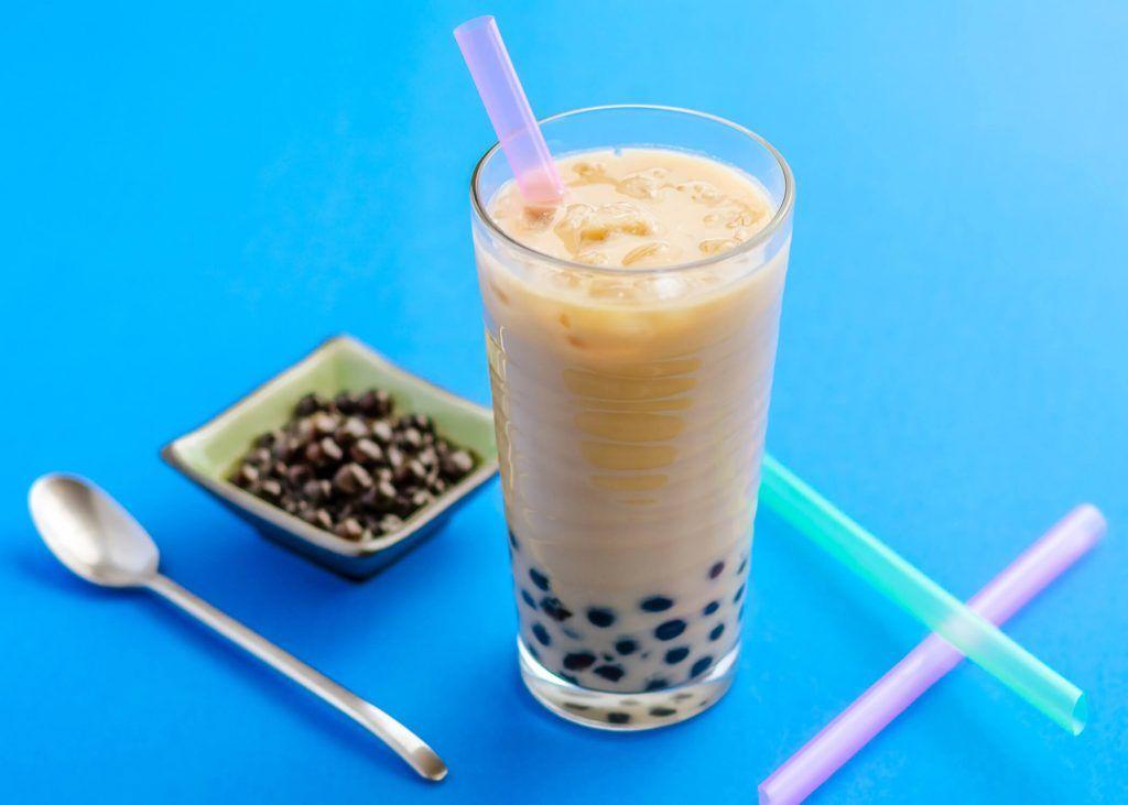 jasmine milk tea with honey boba brewed leaf love recipe in 2020 bubble tea bubble tea recipe tea recipes pinterest