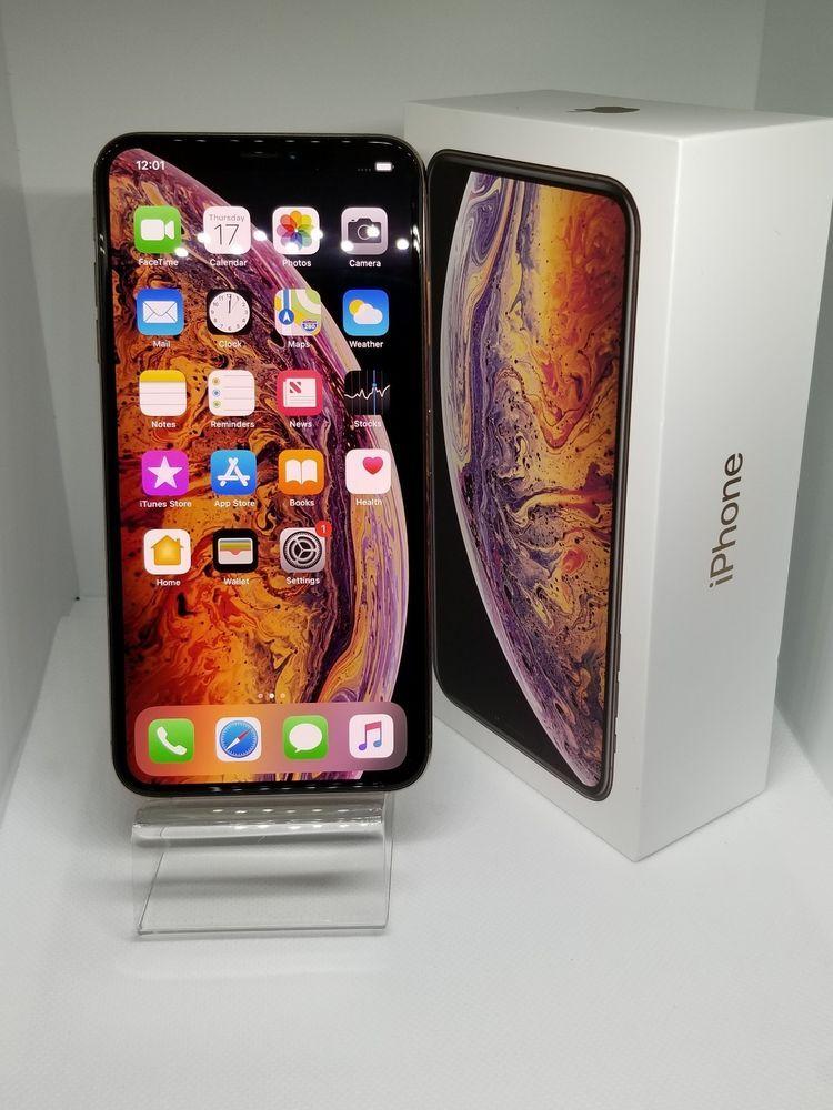 Apple iPhone XS Max 64GB Gold (AT&T) WORKS ATT/CRICKET