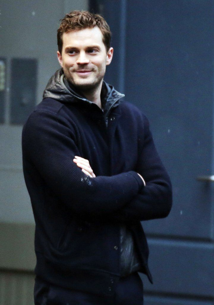 34 Sizzling Pictures Of Jamie Dornan On The Set Of Fifty Shades