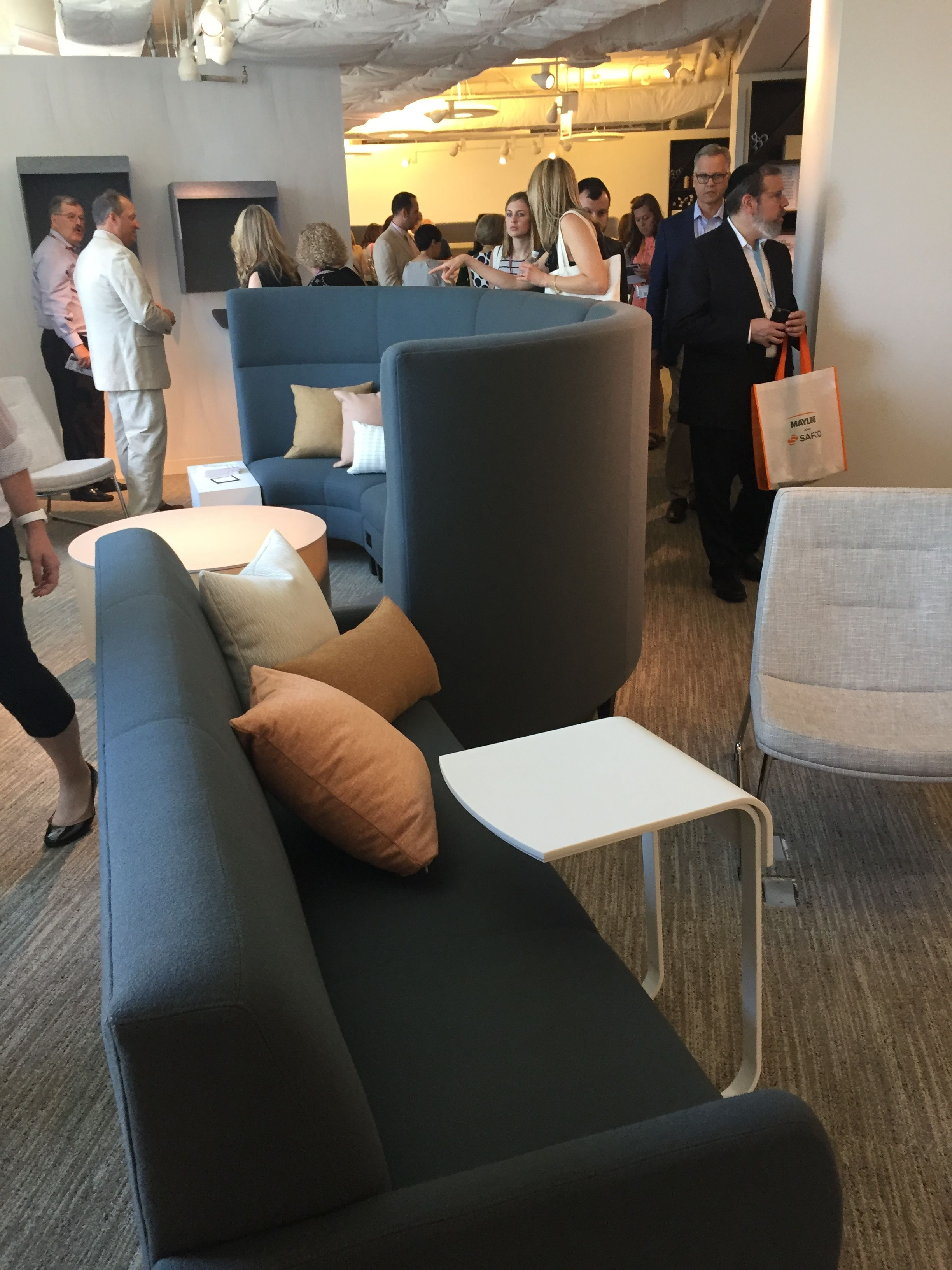 OFS NeoCon 2017 Lounge Collaborative Seating