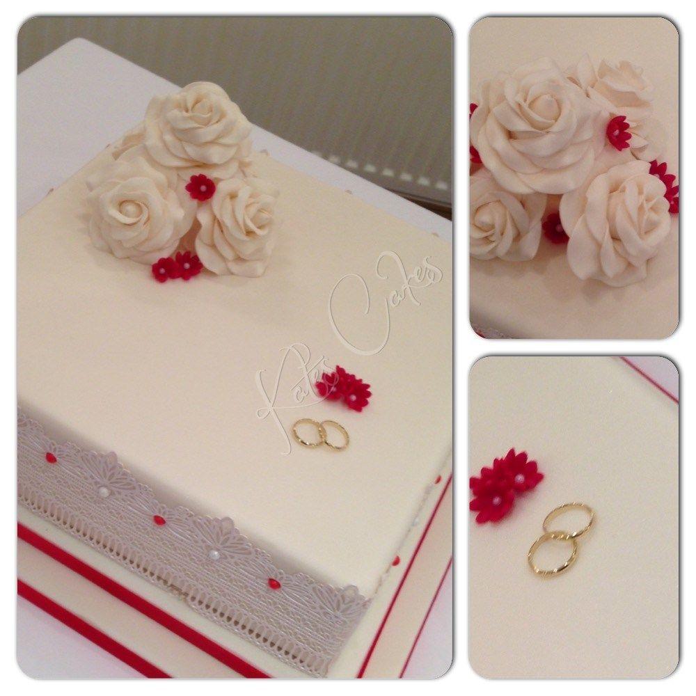Elegant traditional Wedding cake | Wedding Cakes by Me | Pinterest ...
