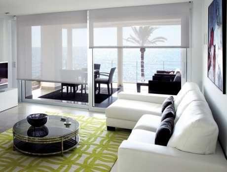 Resultado de imagen de estores salon decoracion | Muebles