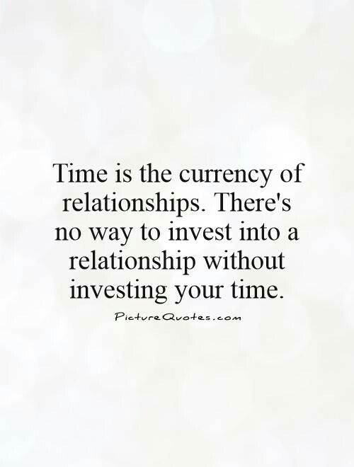 Quotes on time and relationships