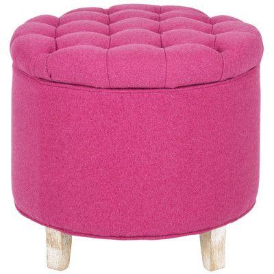 Ashley Tufted Storage Ottoman   Joss & Main   GG room   Pinterest ...