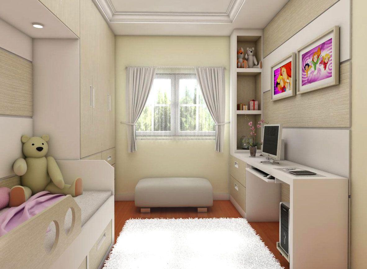 quartos pequenos com moveis planejados Pesquisa Google  ~ Quarto Solteiro Moveis Planejados