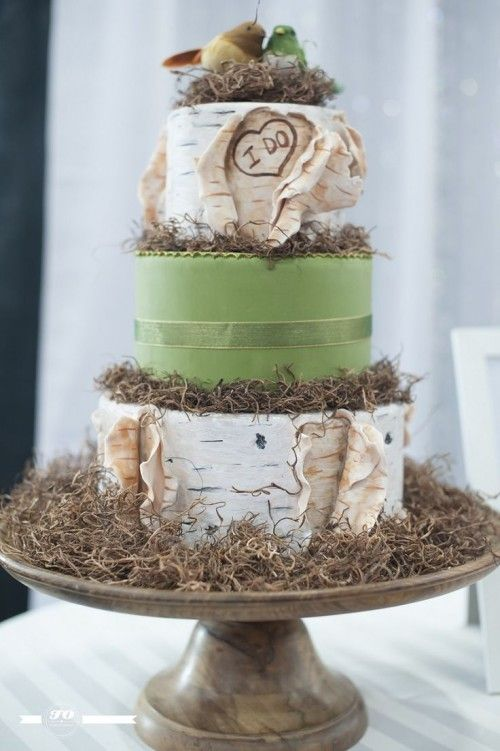 Unique Woodland Wedding Cakes To Get Inspired Wedding