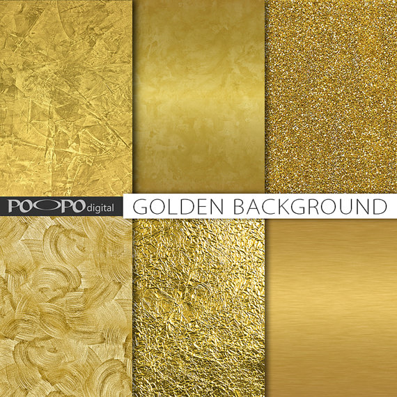 photograph about Printable Textures titled Gold textures electronic paper gold foil history golden