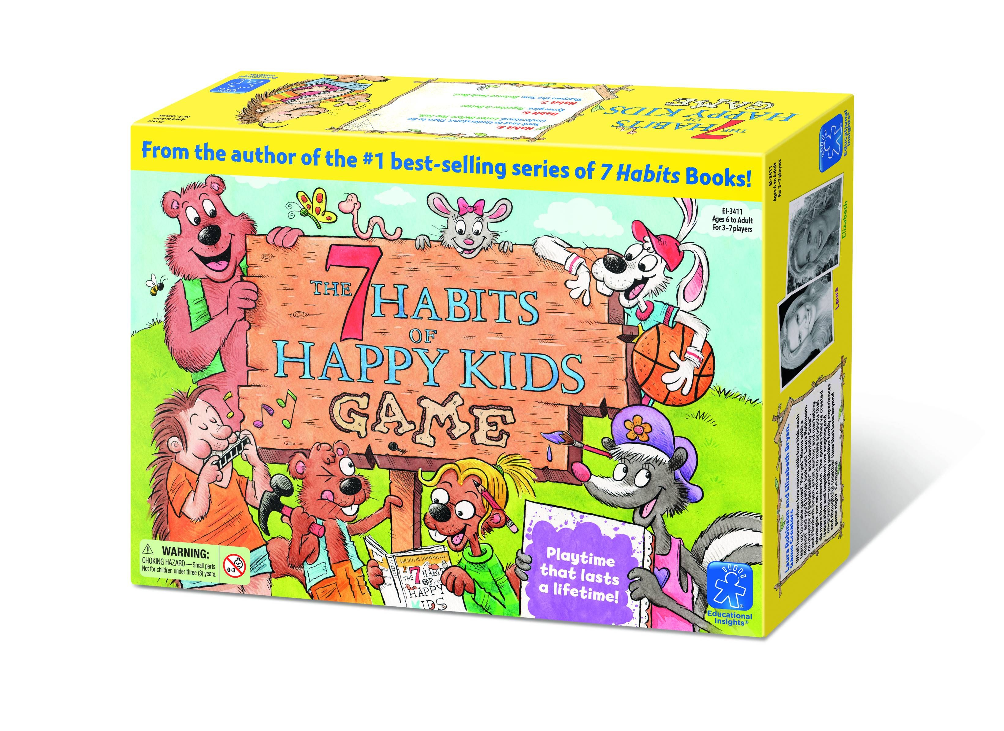 7 Habits For Happy Kids Game Share Thoughtful Personal