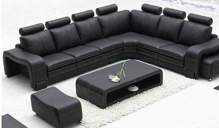 Pin By Punam Pradhan On Architect Leather Corner Sofa Modern