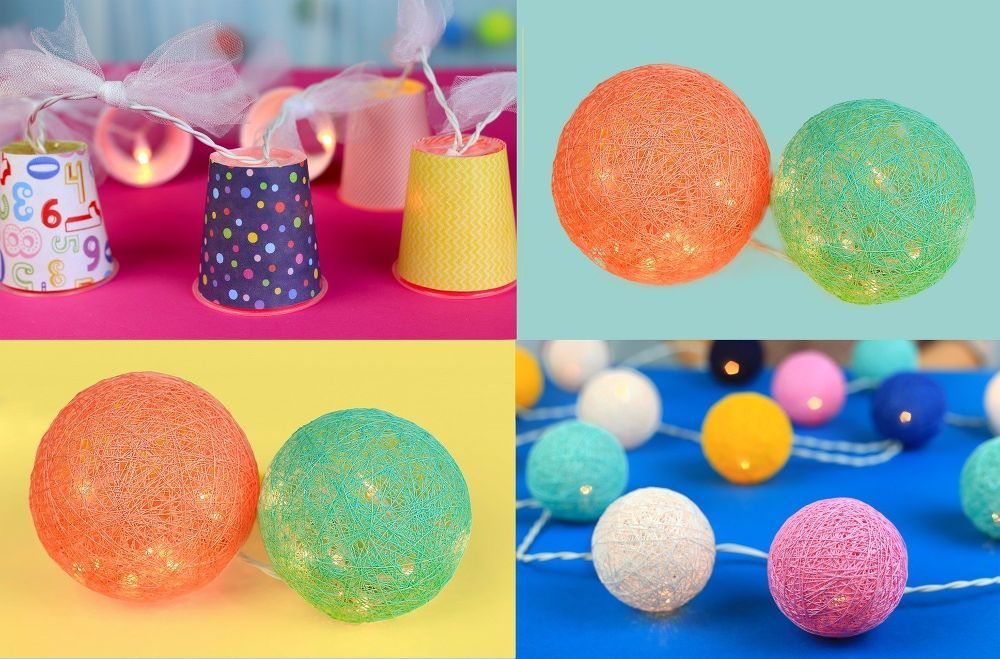 10 Beautiful Projects That Use Balloons Diy garland